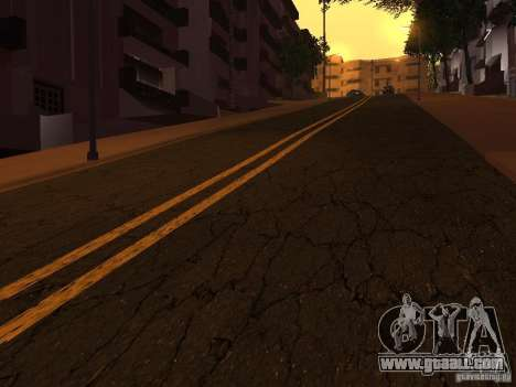 New roads on Grove Street for GTA San Andreas fifth screenshot