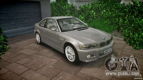 BMW M3 e46 v1.1 for GTA 4