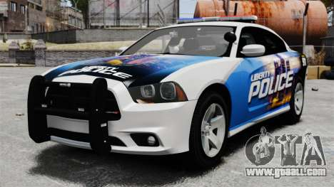 Dodge Charger 2013 Police Code 3 RX2700 v1.1 ELS for GTA 4
