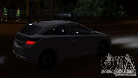 Opel Astra GSI for GTA San Andreas left view