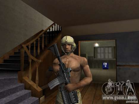 Hats of Call of Duty 4: Modern Warfare for GTA San Andreas second screenshot