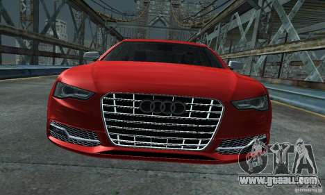 Audi A6 Avant Stanced for GTA San Andreas right view