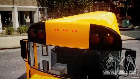 School Bus [Beta] for GTA 4 bottom view