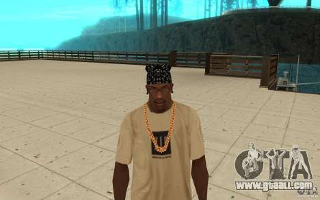 Bandana skills for GTA San Andreas