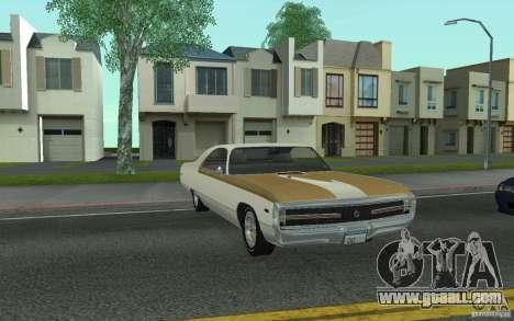 Chrysler 300 Hurst 1970 for GTA San Andreas