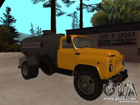 GAZ 53 Truck for GTA San Andreas left view