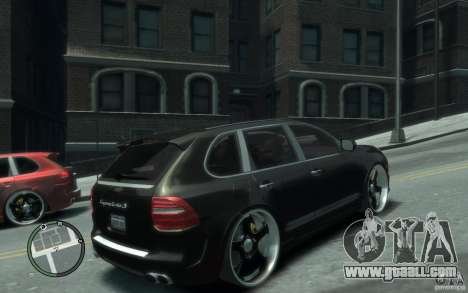 Porsche Cayenne for GTA 4 right view