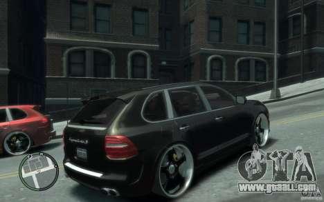 Porsche Cayenne for GTA 4 right view