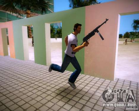MP-40 for GTA Vice City forth screenshot