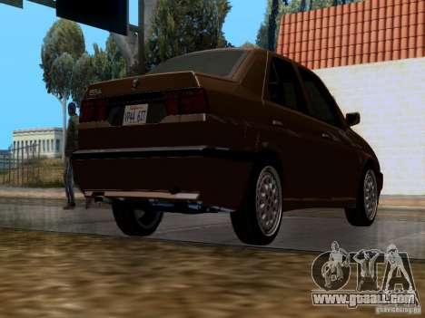 Alfa Romeo 155 for GTA San Andreas right view