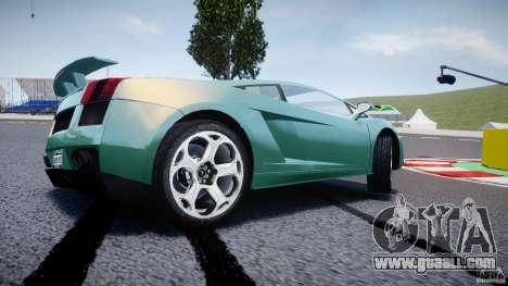 Lamborghini Gallardo for GTA 4 wheels