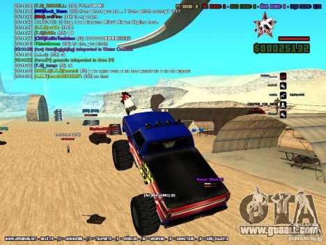 SA:MP 0.3d for GTA San Andreas