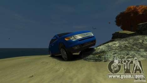 Ford Edge 2007 for GTA 4 inner view