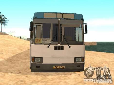 LAZ 52527 for GTA San Andreas left view