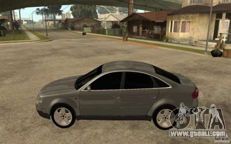 Audi A6 3.0i 1999 for GTA San Andreas left view