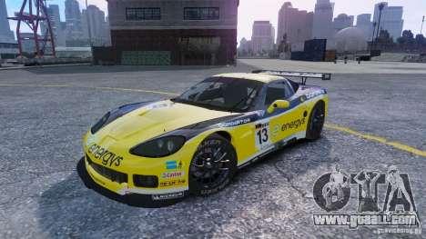 Chevrolet Corvette C6R GT1 for GTA 4