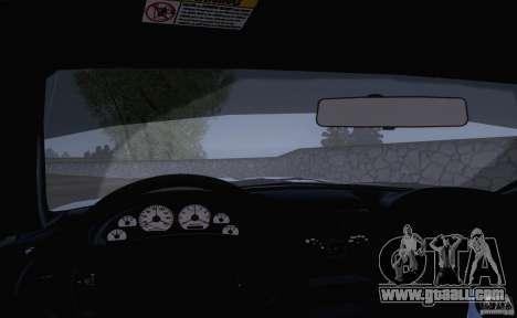 Ford Mustang SVT Cobra 2003 White wheels for GTA San Andreas back view