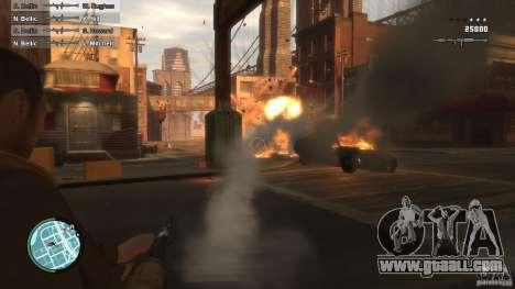 First Person Shooter Mod for GTA 4 third screenshot