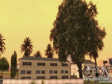 New trees HD for GTA San Andreas sixth screenshot