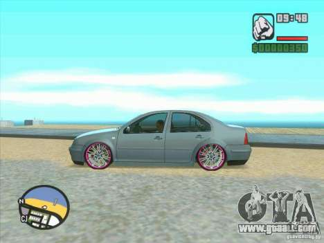 VW Bora Tuned for GTA San Andreas back view