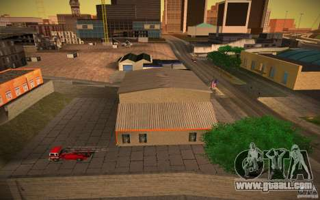 HD Fire Department for GTA San Andreas third screenshot