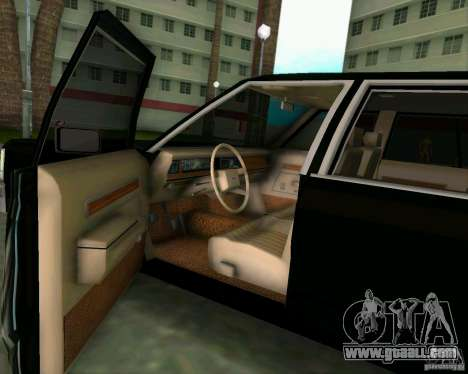 Ford Crown Victora LTD 1985 for GTA Vice City back view