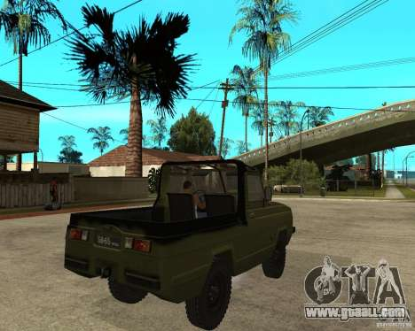 UAZ-3907 Jaguar for GTA San Andreas back left view