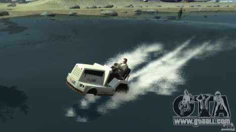 Airtug boat for GTA 4