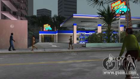 Aral Tankstelle Mod for GTA Vice City forth screenshot