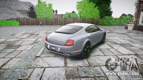 Bentley Continental SuperSports 2010 [EPM] for GTA 4 side view