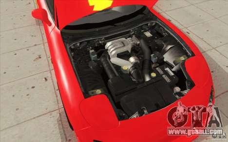 Mazda RX-7 - FnF2 for GTA San Andreas interior