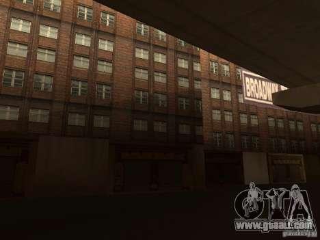 New textures downtown Los Santos for GTA San Andreas forth screenshot