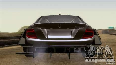 Mercedes Benz C-Class Touring 2008 for GTA San Andreas back view