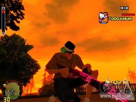 Hello Kitty weapon for GTA San Andreas third screenshot