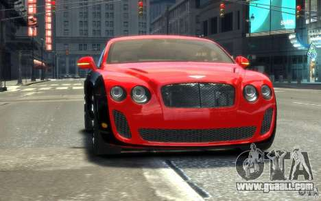 Bentley Continental SS MansorY for GTA 4 side view
