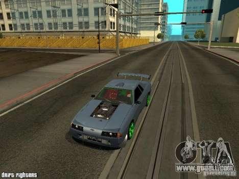Elegy Dark Evolution Drift Final for GTA San Andreas left view