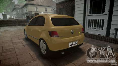 Volkswagen Gol 1.6 Power 2009 for GTA 4 inner view