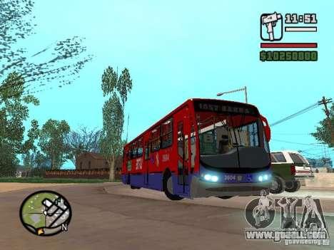 Busscar Urbanuss Pluss VW 17-230 EOD Alongado for GTA San Andreas inner view
