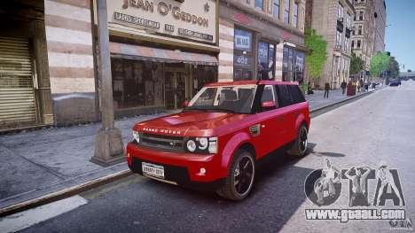 Range Rover Sport for GTA 4