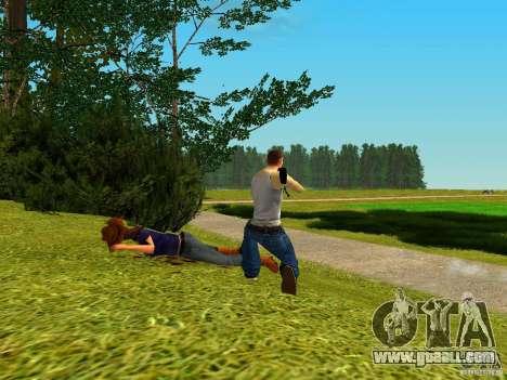 Accuracy International AS50 for GTA San Andreas second screenshot