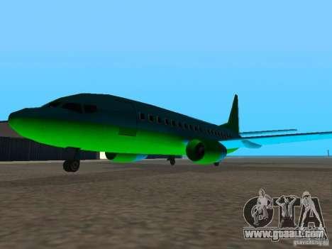AT-400 in all airports for GTA San Andreas third screenshot