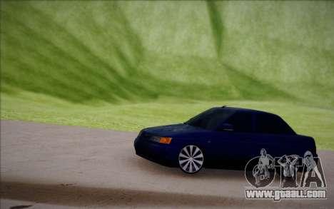 VAZ-2110 for GTA San Andreas inner view