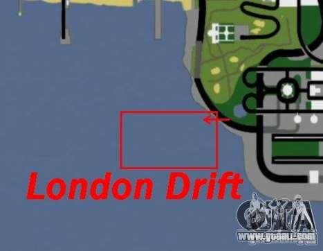 London Drift for GTA San Andreas fifth screenshot