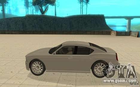 FIB Buffalo in GTA 4 for GTA San Andreas left view
