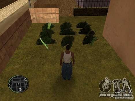 Marijuana v2 for GTA San Andreas