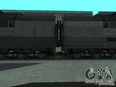 2te116 RZD for GTA San Andreas back left view