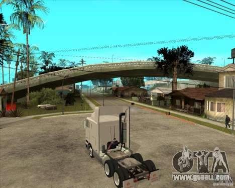 Navistar International 9800 for GTA San Andreas left view