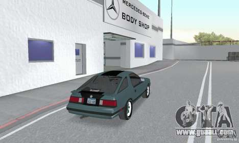 Dodge Daytona Turbo CZ 1986 for GTA San Andreas left view