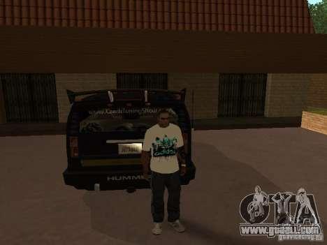 Jersey Adidas for GTA San Andreas third screenshot