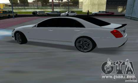 Mercedes-Benz S65 AMG Edition for GTA San Andreas back left view